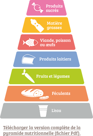 Pyramide nutritionnelle